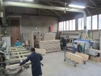 Panoramica della lavorazione dei serramenti in legno